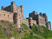 Charter Flight around Northumberland, see Bamburgh Castle